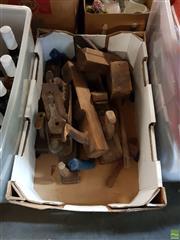 Sale 8582 - Lot 2290 - Box of Vintage Tools