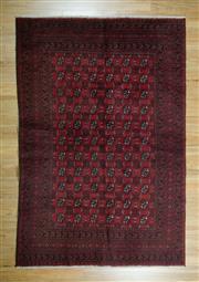 Sale 8625C - Lot 92 - Afghan Turkman 325cm x 165cm