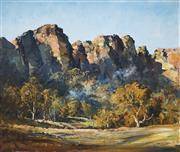Sale 9013 - Lot 527 - Robert Johnson (1890 - 1964) - Capertee Valley 55 x 65 cm (frame: 66 x 76 x 3 cm)