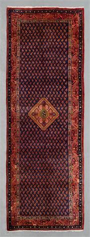 Sale 8499C - Lot 11 - Persian Hamadan Runner 300cm x 106cm