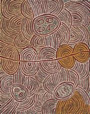 Sale 8519 - Lot 520 - Marlene Young Nungurrayi (1973 - ) - Minyma Tjukurrpa 100 x 79cm