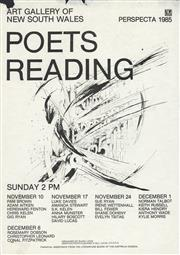Sale 8766A - Lot 5008 - Piotr Olshanki & Bill Lucas - Art Gallery of New South Wales 'Poets Reading' lithograph