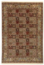 Sale 8790C - Lot 35 - An Iranian Mood Rug, Khorasan Region, Super Very Fine Wool And Silk Pile., 303 x 205cm