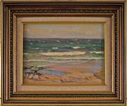 Sale 8810A - Lot 5016 - Charles Wheeler (1881 - 1977) - Seascape 20 x 28cm