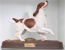 Sale 9256H - Lot 69 - A Beswick England figure of The Spaniel, H21.5cm.