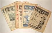 Sale 8418S - Lot 1 - RUGBY LEAGUE NEWS 1953 Vol 34 Nos. 6, 8, 10 (NSW v QLD), 15, 20, 22, 23, 24, 25, 27, 29 (Sydney v Brisbane), 30 (Oct), 31 (Nov), 32...