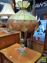 Sale 8465 - Lot 1049 - Brass Table Lamp