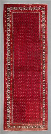 Sale 8499C - Lot 12 - Persian Hamadan Runner 307cm x 107cm