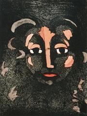 Sale 8552 - Lot 2022 - David Rankin (1946 - ) - Red Lips, 1985 33 x 24.5cm
