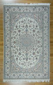 Sale 8657C - Lot 8 - Super Fine Persian Nain Silk Inlaid 329cm x 206cm