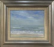 Sale 8686 - Lot 2004 - Garth R Legge - Seascape, 1974, oil on board, 19.5 x 24.5cm (frame size), signed lower right