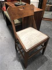 Sale 8817 - Lot 1046 - Oak Chair