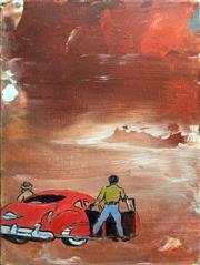 Sale 8939A - Lot 5022 - Tim Johnson (1947 - ) - Arrival, 2007 20 x 15 cm