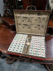 Sale 8988 - Lot 1099 - Boxed Majong Set