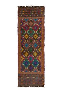 Sale 9149C - Lot 1 - AFGHAN BELUCH KILIM, 65X200cm