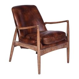 Sale 9180F - Lot 6 - A pair of Mid Century Design  armchairs. Featuring solid hardwood frame, finished in a Brushed cherry Wood tone. Upholstered in dist...