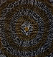 Sale 8288A - Lot 44 - Mary Rumble Pitjara (1957 - ) - Rockholes 100 x 95cm