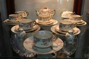 Sale 8304 - Lot 95 - Kotobuki Satsuma Tea Setting