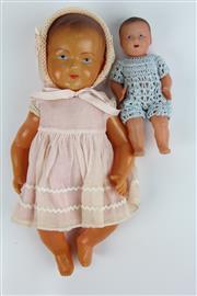 Sale 8405 - Lot 48 - Celluloid Dolls