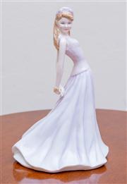 Sale 8430 - Lot 100 - A Royal Doulton figure, Chelsea. Height 22cm.