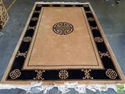 Sale 8480 - Lot 1027 - Oriental Machine Made Style Woollen Rug (390 x 185)