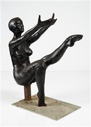Sale 8538 - Lot 594 - Roger Akinin (1950 - 2016) - Nude h.54, w.55, d.22cm