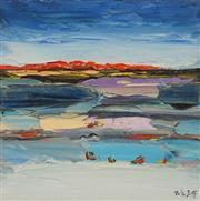 Sale 8665A - Lot 5047 - Palla Jeroff (1957 - ) - Landscape II 30.5 x 30.5cm