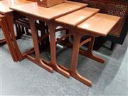 Sale 8801 - Lot 1064 - G Plan Teak Nest of Tables