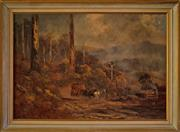 Sale 8810A - Lot 5032 - Naylor Gill (1873 - c1945) - Passing of the Stage Coach 53 x 76cm