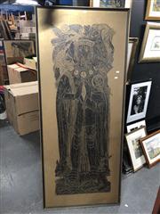 Sale 8811 - Lot 2086 - Sir Thomas Moore Framed Rubbing