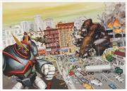 Sale 8870 - Lot 2038 - Kozyndan - King Kong vs Transformer 44 x 61cm