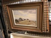 Sale 8861 - Lot 2047 - Gary Baker - Road to the Oaksoil on board, 32 x 40.5cm (frame), signed lower left -