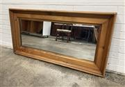 Sale 9063 - Lot 1050 - Timber Framed Rectangular Mirror (151 x 75cm)