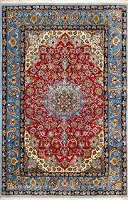Sale 8380C - Lot 14 - Super Fine Persian Isfahan 110cm x 170cm