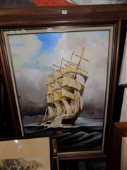 Sale 8422T - Lot 2054 - Artist unknown, The Pamir, Oil Painting, SLR