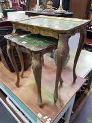 Sale 8589 - Lot 1027 - Nest of Two Tables