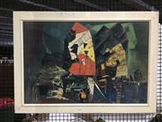 Sale 8751 - Lot 2090 - Framed Print Gonzales - Hong Kong