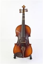 Sale 8783 - Lot 48 - Violin in Case With Bow