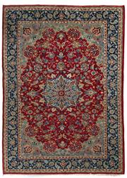 Sale 8790C - Lot 12 - A Persian Najafabad From Isfahan Region 100% Wool Pile On Cotton Foundation, 353 x 255cm