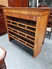 Sale 8792 - Lot 1009 - 19th Century French Fruitwood Dresser Top with three galleried shelves (H: 131 W: 145cm)