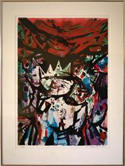 Sale 8810A - Lot 5035 - Yosl Bergner (1920 - 2017) - Untitled 65 x 46cm