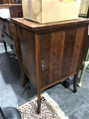 Sale 8822 - Lot 1267 - Elevated Timber Pot Cupboard