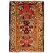 Sale 8830C - Lot 4 - An Antique Caucasian Kazak in Handspun Wool 143x100 cm
