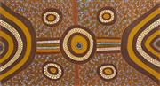Sale 8288A - Lot 31 - Nina Puruntatameri (1971 - ) - Kulama Ceremony 80 x 149cm
