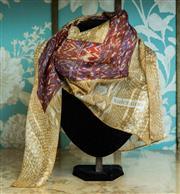 Sale 8420A - Lot 70 - A designer Valentino vintage silk scarf, condition: very good, 87 x 87cm
