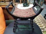 Sale 8589 - Lot 1037 - Early Double Ended Stool