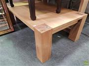 Sale 8637 - Lot 1065 - Timber Coffee Table (H: 45 x L: 139.5 x W 80cm)