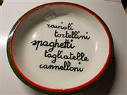 Sale 8668 - Lot 2098 - Spaghetti Dish