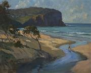 Sale 8692 - Lot 585 - Julian Richard Ashton (1913 - 2001) - Bilgola Head 39.5 x 49.5cm