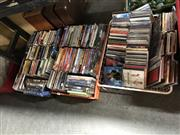 Sale 8789 - Lot 2282 - 3 Crates of DVDs & CDs